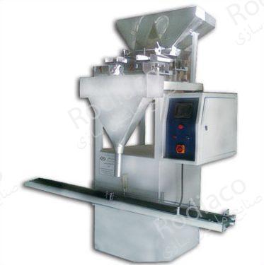 دستگاه پرکن نیمه اتوماتیک حبوبات