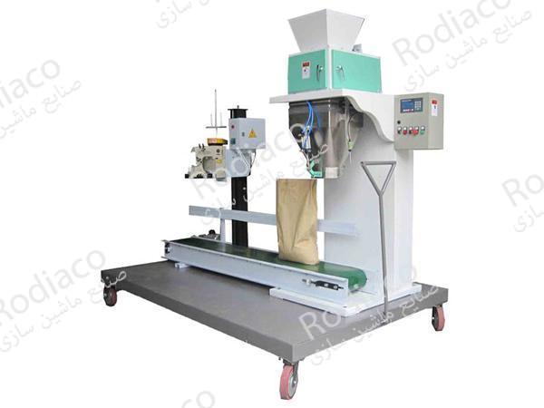 دستگاه نیمه اتوماتیک بسته بندی حبوبات