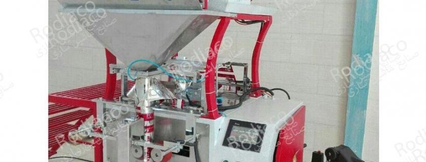 شرکت سازنده دستگاه کیسه پرکن بسته بندی چهار توزین