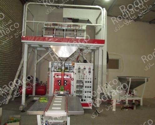 ساخت دستگاه بسته بندی حبوبات و خشکبار
