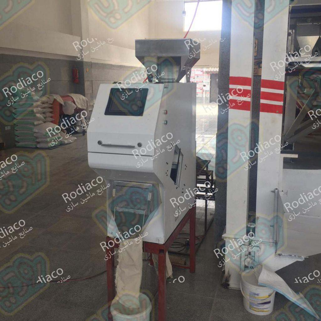 دستگاه سورتینگ برنج خانگی