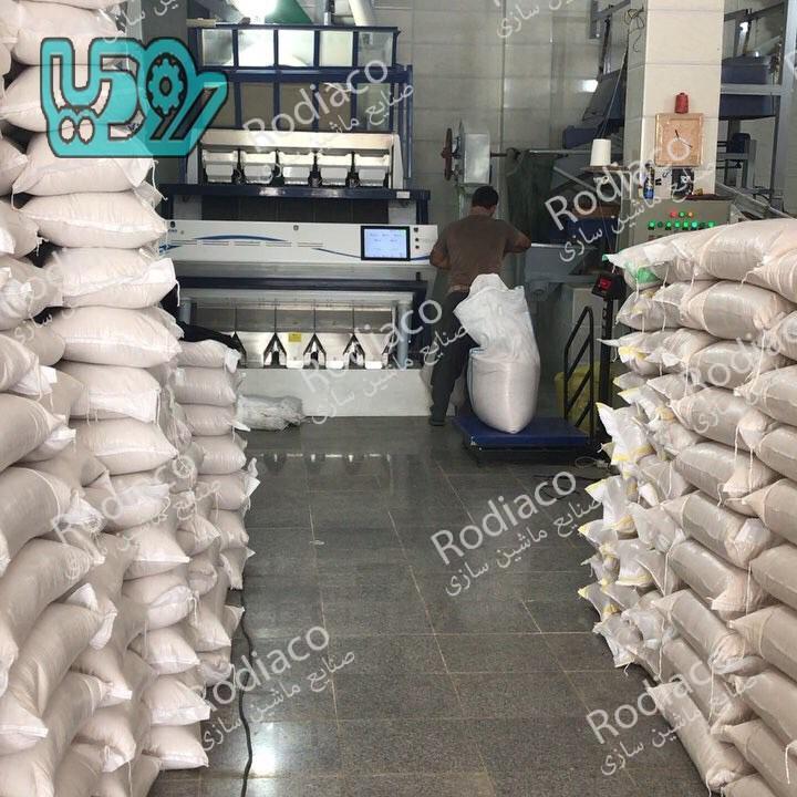 دستگاه سورتینگ برنج