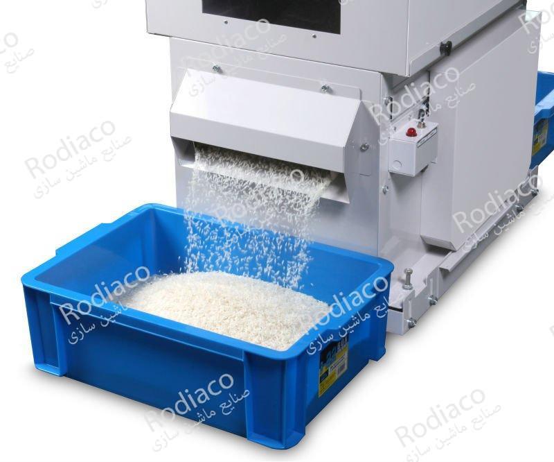 دستگاه سورتینگ برنج چیست