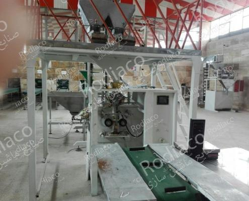 فروش خط تولید کامل بسته بندی حبوبات