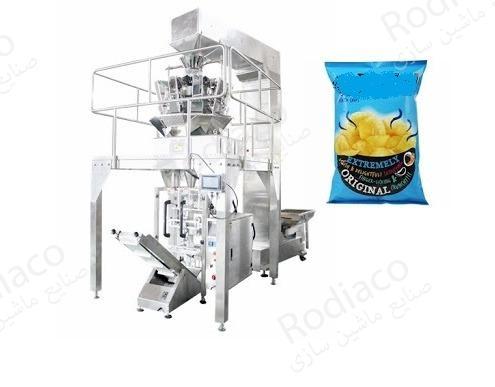 دستگاه بسته بندی چیپس | 0 تا 100 خط کامل تولید چیپس سیب زمینی