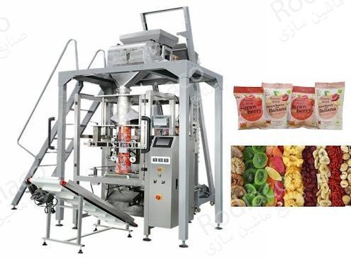 دستگاه بسته بندی میوه خشک | انواع صنعتی و خانگی با قیمت مناسب