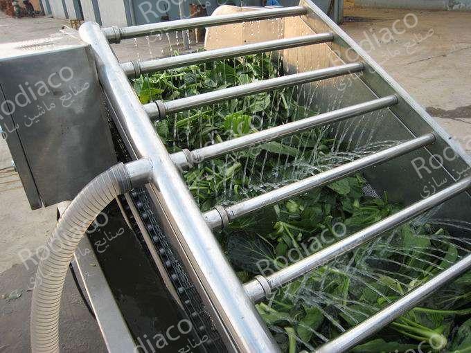 طرز کار دستگاه شستشوی سبزی
