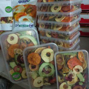 تصویر نمونه بسته بندی میوه خشک