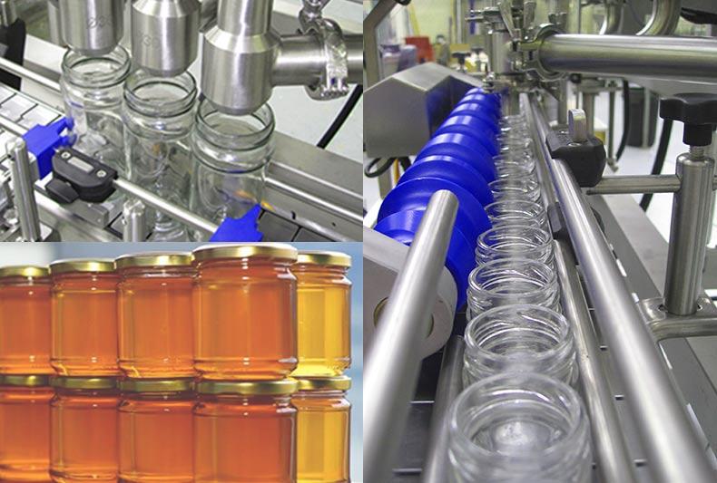 عملکرد دستگاه بسته بندی عسل