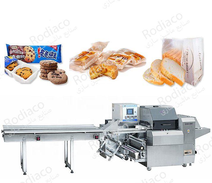دستگاه بسته بندی نان تست