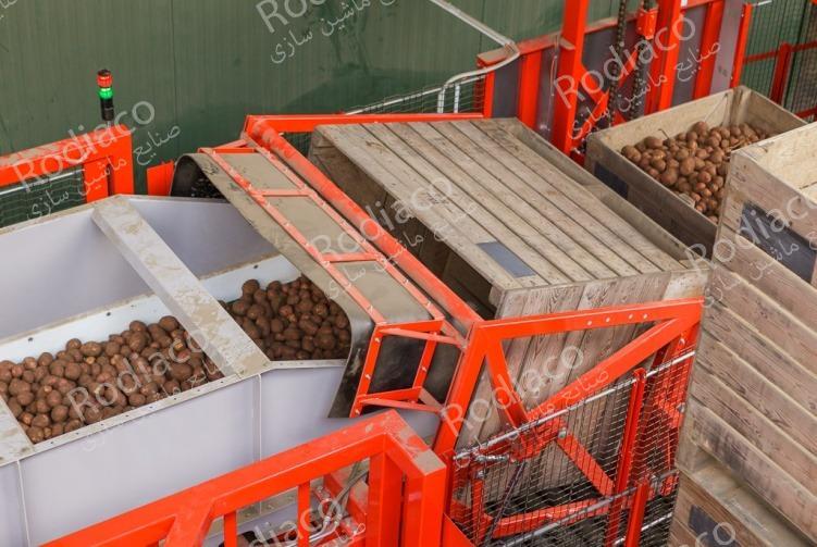 دستگاه بسته بندی سیب زمینی پیاز