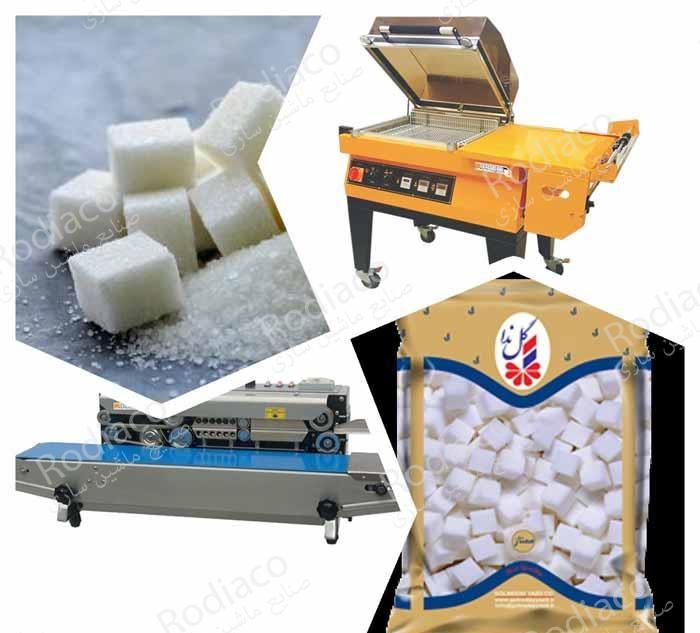 دستگاه بسته بندی قند و شکر دست دوم