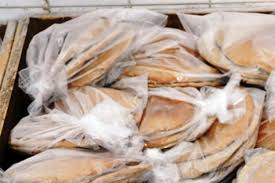 بسته بندی نان در منزل