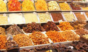 بازار فروش میوه خشک در کشورمان