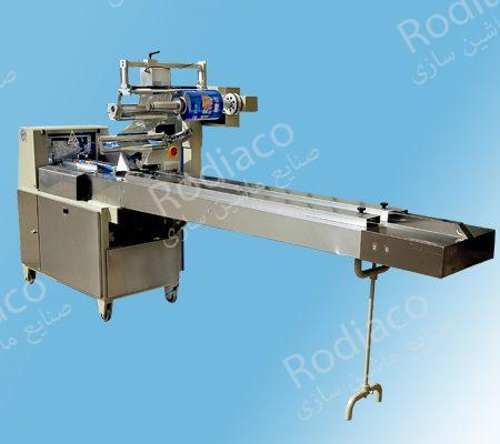 خط تولید دستگاه بسته بندی نان باگت | تست + دستگاه برش
