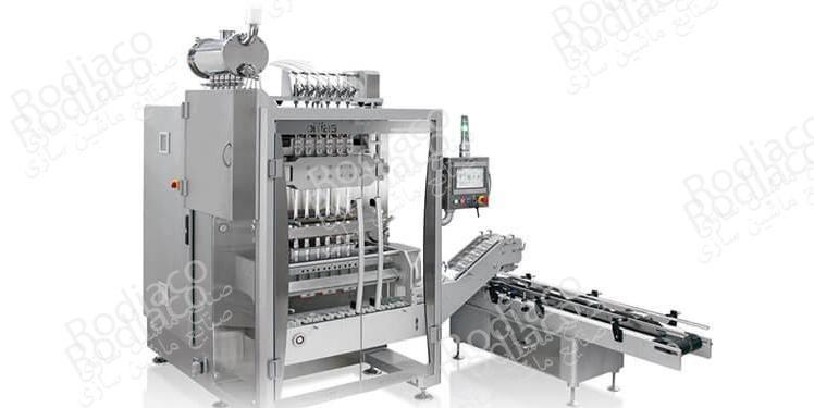 دستگاه پرکن مواد غذایی و بسته بندی محصولات