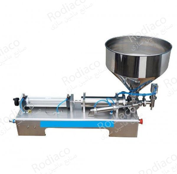 دستگاه پرکن مایعات خانگی و صنعتی
