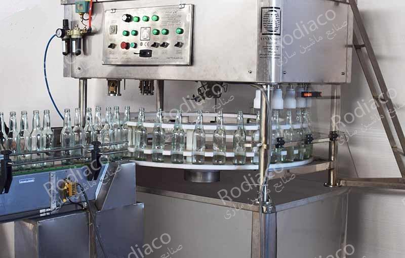 فروش انواع دستگاه پرکن مواد رقیق و عرقیجات