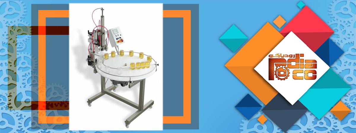 ساخت انواع دستگاه پرکن عسل دستی | اتومات