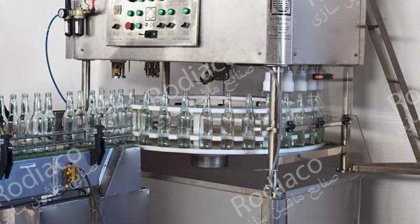 دستگاه پرکن دلستر | شیشه پرکن + دربندی شیشه