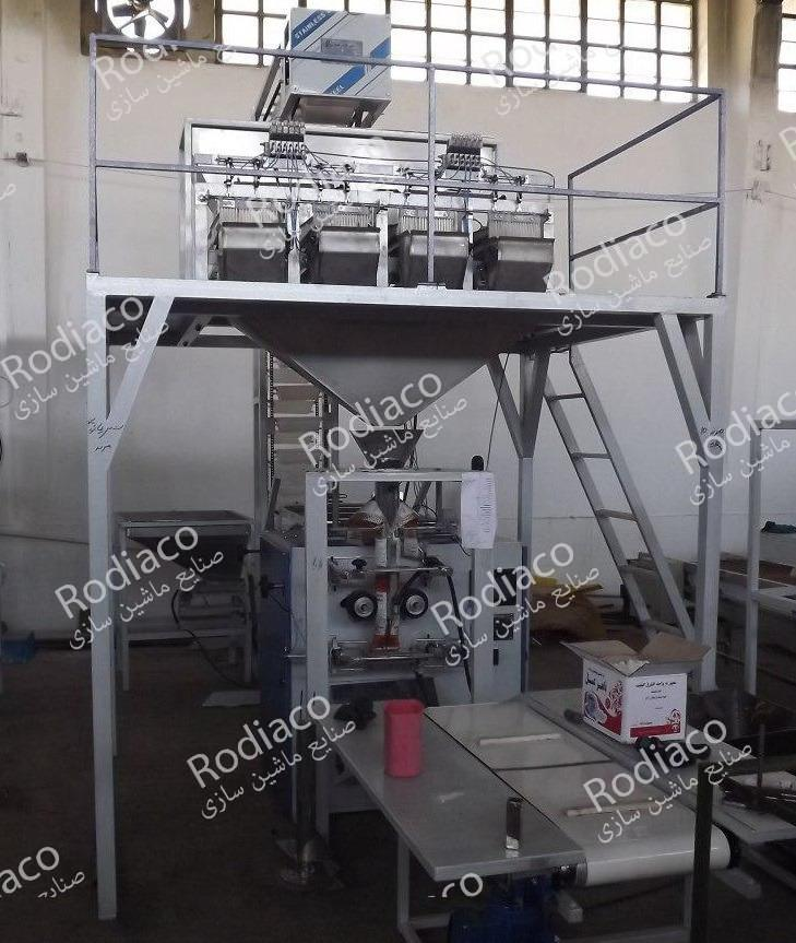 دستگاه بسته بندی چهار توزین صنعتی