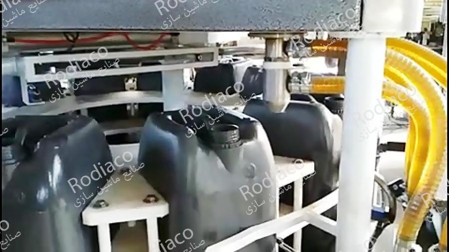 دستگاه پرکن گالن 20 لیتری روغن