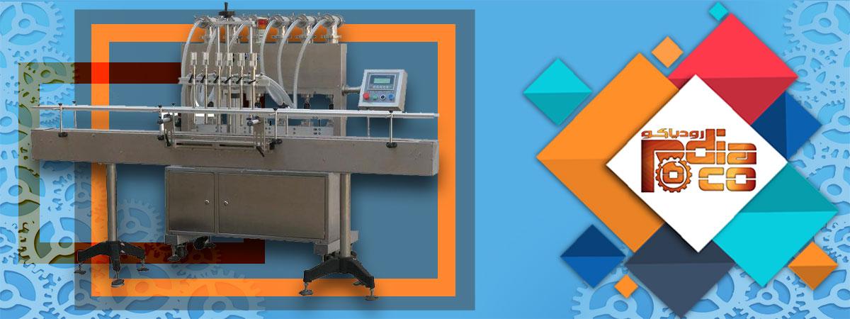 فروش انواع دستگاه پرکن 6 نازله مایعات