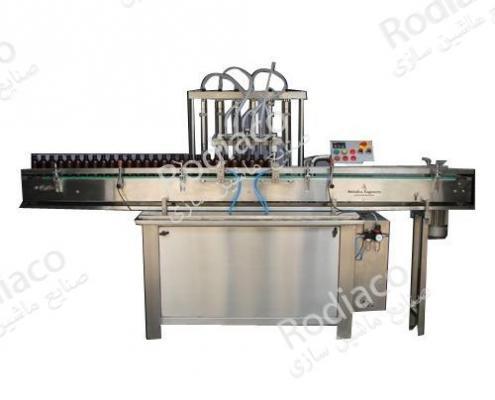 فروش انواع دستگاه پرکن 6 نازله مایعات با ظرفیت بالا