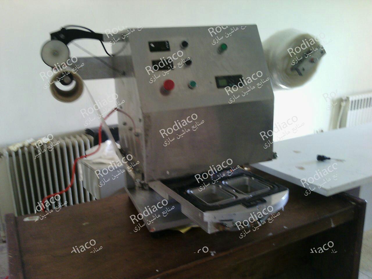 دستگاه بسته بندی رومیزی