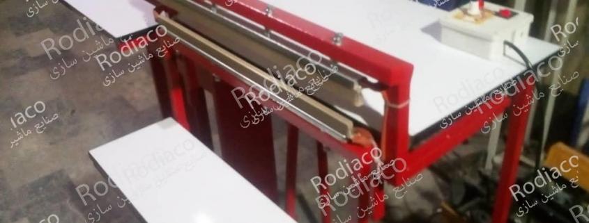 ساخت دستگاه پرس حرارتی نایلون در چه ابعادی صورت میگیرد؟