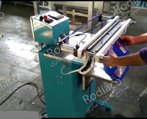 خرید دستگاه دوخت پلاستیک پدالی عمودی در ابعاد مختلف + قیمت مناسب
